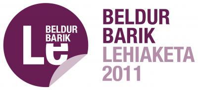 BELDUR BARIK LEHIAKETA 2011 - CONCURSO BELDUR BARIK